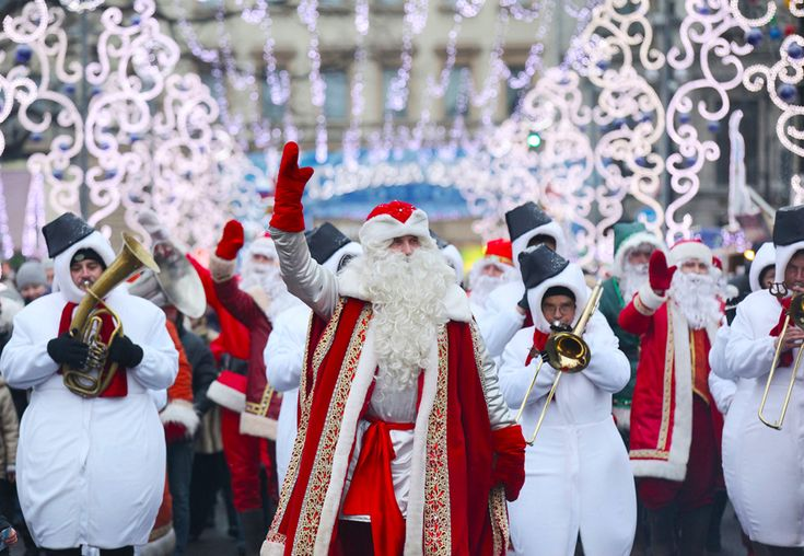 Best Christmas spots in Moscow and St. Petersburg