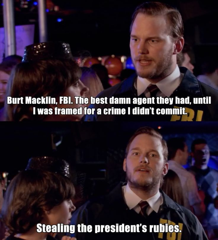 Janet Snakehole and Burt Macklin #ParksandRec #humor #quote