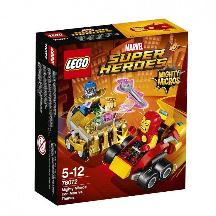 #Lego #LEGO® #76072 LEGO Marvel Super Heroes Mighty Micros: Iron Man vs. Thanos 94Stück(e) Gebäudeset Alter: 5-12, Teile: 94LEGO ® Super Heroes Mighty Micros: Iron Man 76072. Hier klicken, um weiterzulesen. Ihr Onlineshop in #Zürich #Bern #Basel #Genf #St.Gallen