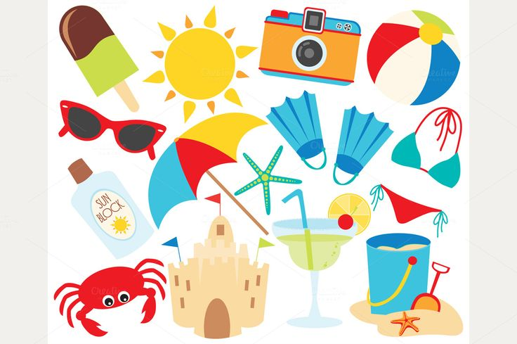 73 Best Clipart: Summer Images On Pinterest