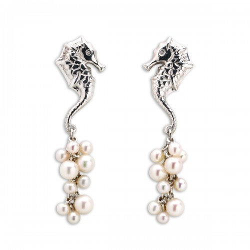 Sea Horse Earrings - Patrick Mavros