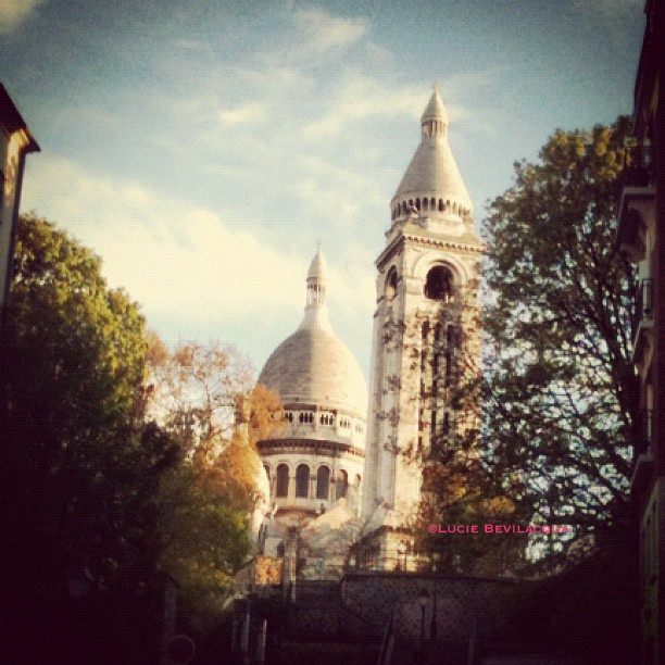 Sacré Coeur, near from my flat