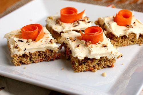 Carrot Zucchini Bars | Recipe