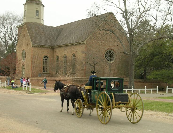 Bruton parish church, Williamsburg, VA - the oldest church in the United States. Many of the founding fathers worshiped here. The feeling of history you get when you go inside this church is something I am not able to express satisfactorily. Let's just say it's awesome!!
