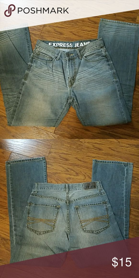 Express men's jeans 32 × 34 Express men's jeans excellent used condition Express Jeans Bootcut