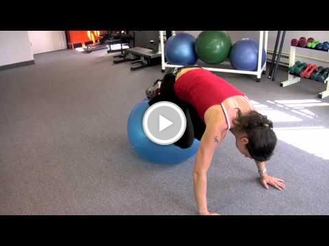 Supreme 90 Day Fitness Program Abs Core Workout on Ball