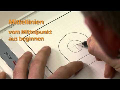 Technisches Zeichnen: Übung 1 - Handskizze eines einfachen Maschinenteils nach Modell - YouTube