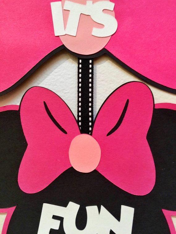 Minnie Mouse Club House signe décor de Minnie Mouse signe