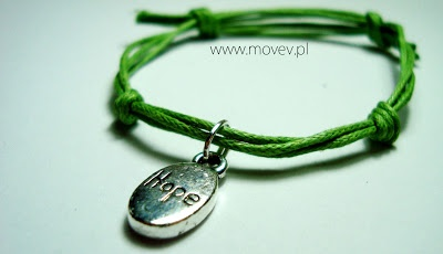 "www.movev.pl |bracelet ""hope"""