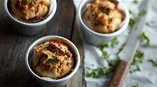 Muffinki z tunczykiem i kukurydza