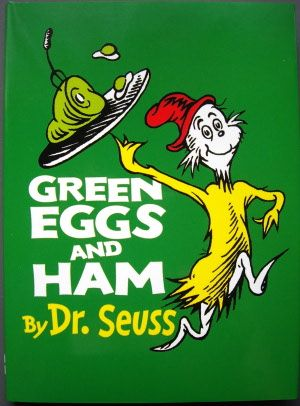 made green eggs and ham with class once...it was really fun.  childrensclassics.com: Worth Reading, Hams, Books Worth, Seuss Books, Green Eggs, Children S Books, Dr. Seuss, Dr Seuss, Kid
