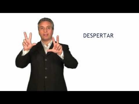 curso lengua de señas dentificación y Saludos - YouTube