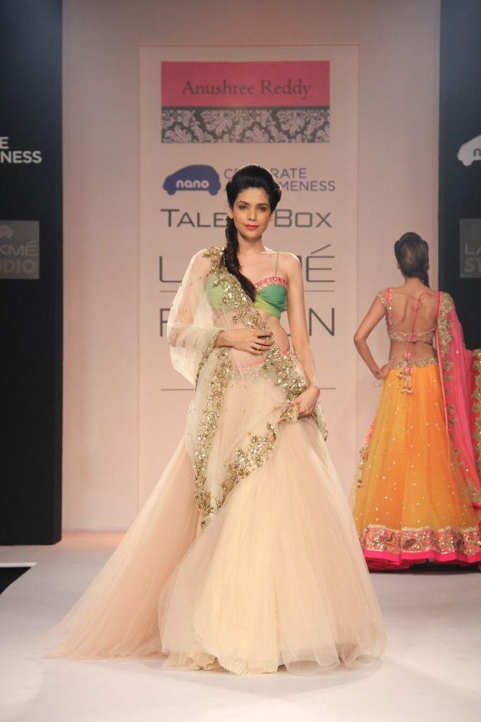 Lakmé Fashion Week – Anushree Reddy And Astha Narang at Lakmé Fashion Week Winter/Festive 2013