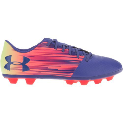Under Armour Youth Spotlight DL FG Jr. Soccer Cleats (Purple/Pink, Size 6) - Youth Soccer Shoes at Academy Sports