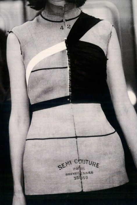 Mason Martin Margiela   semi-couture   fall/winter 1997-'98