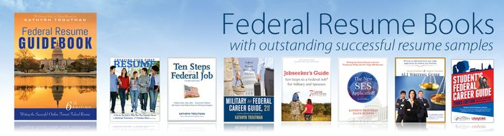 Books On How To Write A Federal Resume - Submission specialist