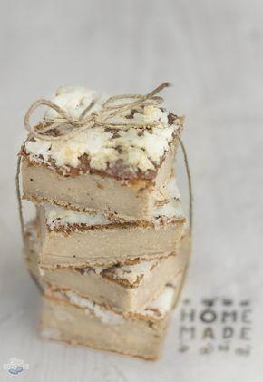 Blue Almonds : Białe Brownies z Fasoli / White Bean Blondies