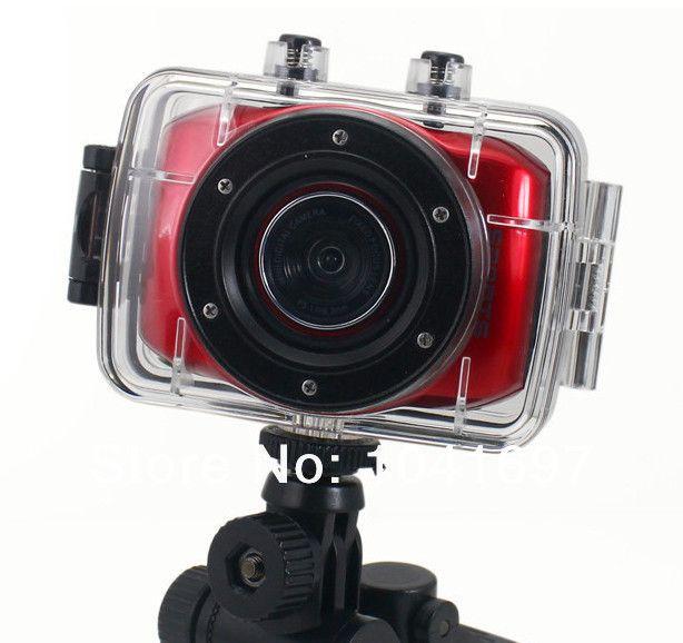 720P HD mini Action Camera Sport DVR Helmet Waterproof Camera Sport Outdoor Camcorder DV hot digital video cameras free shipping