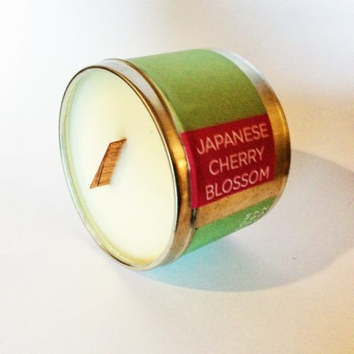 Home Fragrance | Poepa Soap - JAPANESE CHERRY BLOSSOM SOY CANDLE