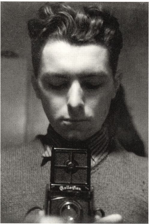 1932 Self-Portrait-Robert Doisneau-The greatest exponent of the so-called humanist current of street photography, a lover of stolen shoots,  Doisneau was fascinated by emotions, from the small moments of life of a city in turmoil, as the twentieth-century Paris was; on the streets, people meet with inattention, as well as their stories did, drawing a puzzle of feelings that together contribute to define the profile of the city itself.