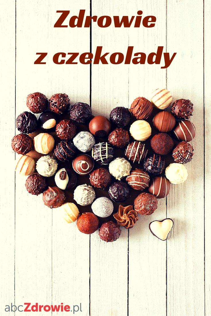 Czekolada to świetny sposób na deser i źródło zdrowia. Dostarczy wam też serotoniny i poprawi humor!  #czekolada #czeko #deser #przekąska #deser #zdrowie #humor #nastrój #chocolate #choco #desserts #snacks #sweets #praliny #healthy #abcZdrowie