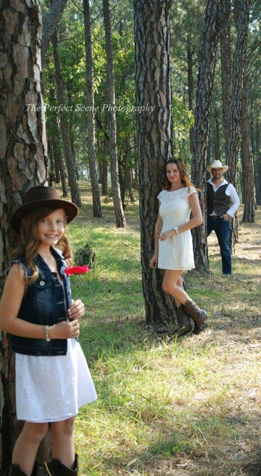 Western Family Photoshoot