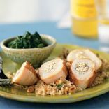 Chicken Breasts stuffed with Artichokes, Lemon, and Goat Cheese ...