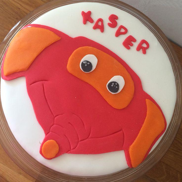 Fantorangenkake Cake fantorangen Kake Fondant Mmf