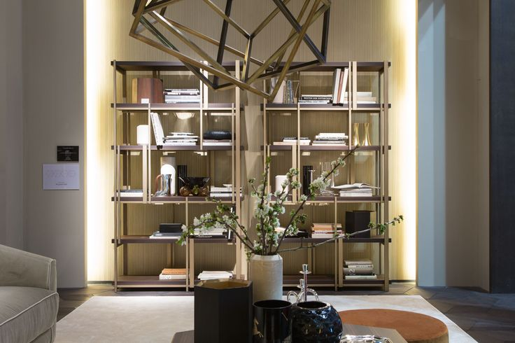 MONDRIAN bookshelf by Massimiliano Raggi. Discover our complete collection on our website www.casamilanohome.com
