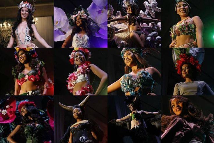 Miss Earth Guam 2016 Native Costume
