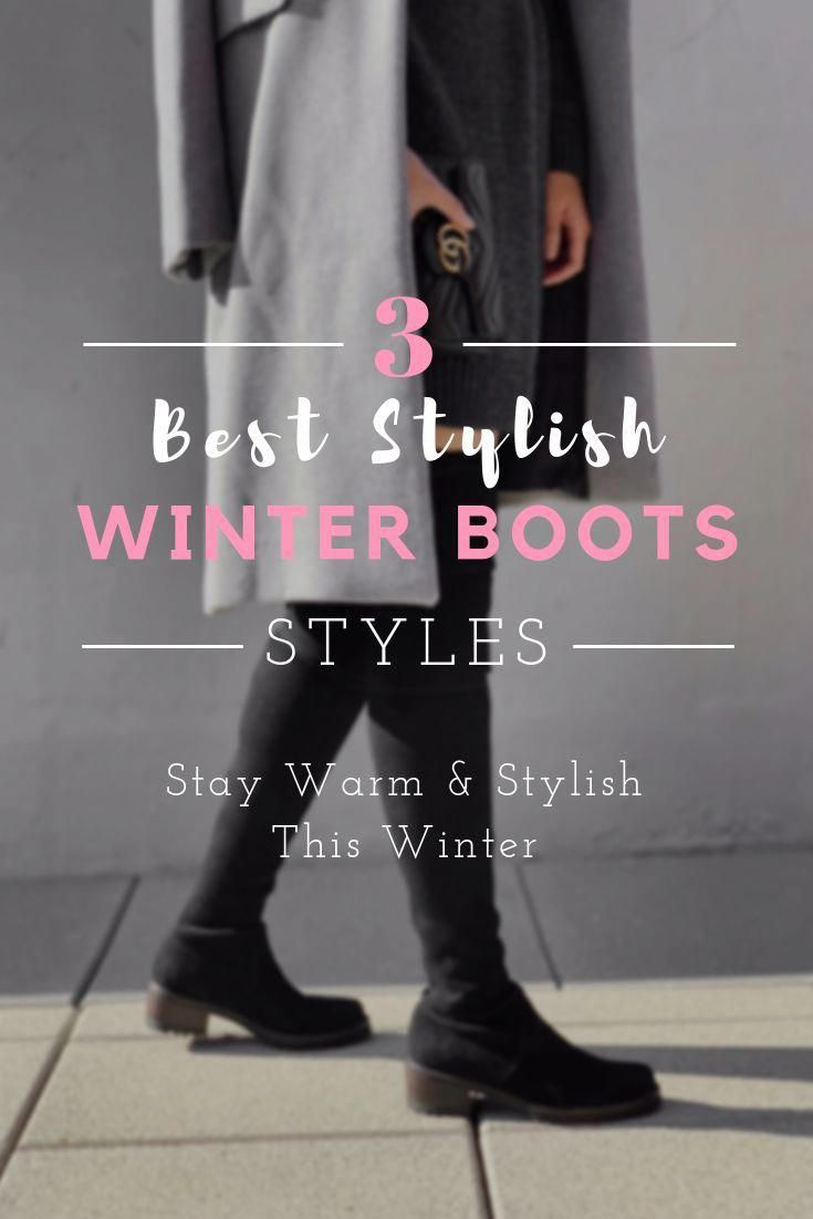 7748d93bc Most stylish winter boots selection. Stay warm and stylish this winter.  Cold weather essentials. cute boots outfits #winterboots