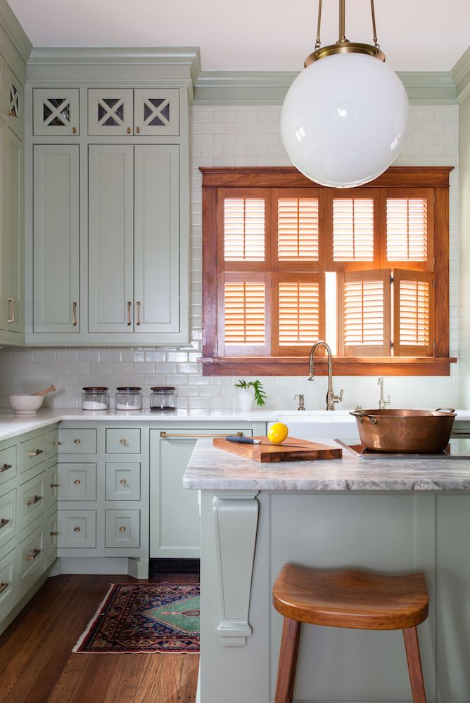 A full kitchen remodel in a 1900s Queen Anne Victorian home in the tiny town of Moulton, TX.