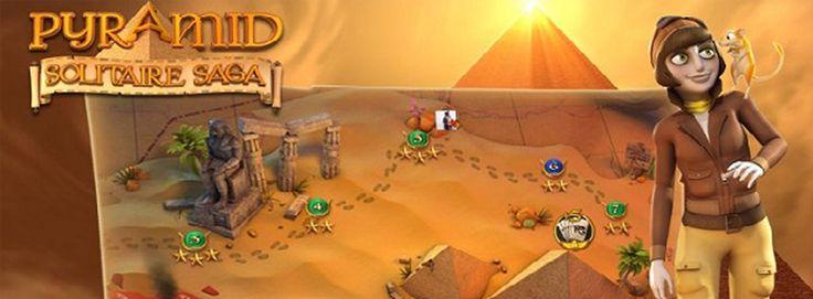Pyramid Solitaire Saga para iPhone, iPad y iPad Mini – App del Día de iPadizate