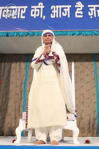 Photos: January 01: Delhi -Satsang Programme: Satsang Programme in the Divine Presence of Her Holiness Delhi, Samagam Ground No 8,…