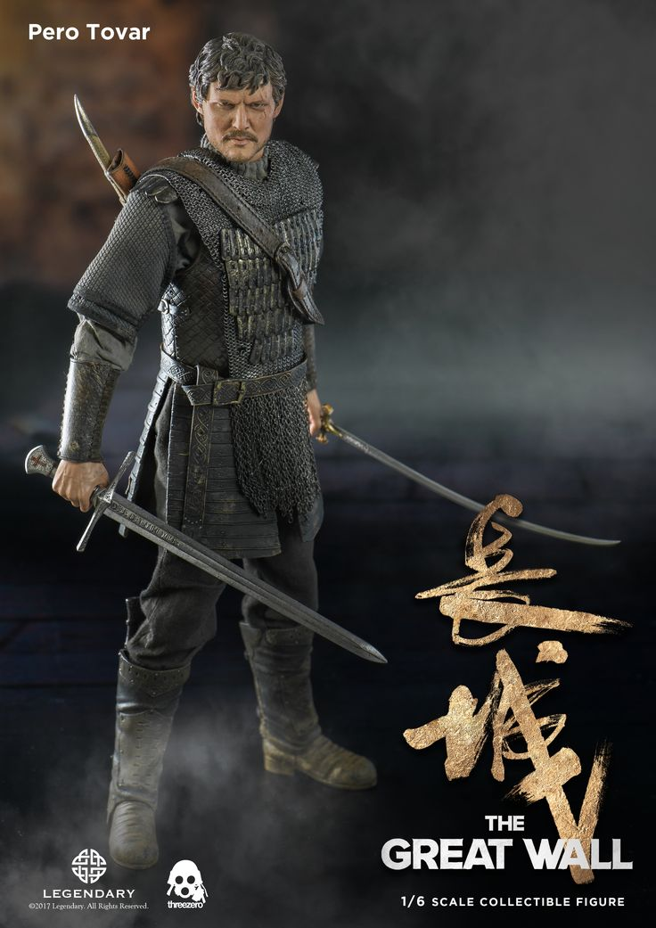 1/6th scale The Great Wall Pero Tovar available for pre-order at www.threezerohk.com starting from now! Check for more info and images at our Facebook page: https://www.facebook.com/media/set/?set=a.1724924640866690.1073741984.697107020315129&type=1&l=f417002334 #threezero #TheGreatWall #PeroTovar #onesixthscale #actionfigure #actionfigures #toy #toys #collectible #collectibles