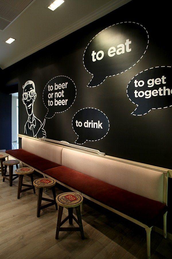 Best cafe wall ideas on pinterest coffee shop design