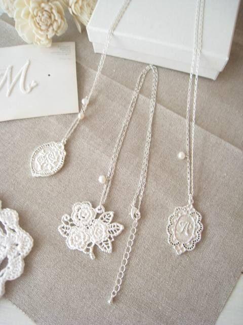 Lovely lace pendant