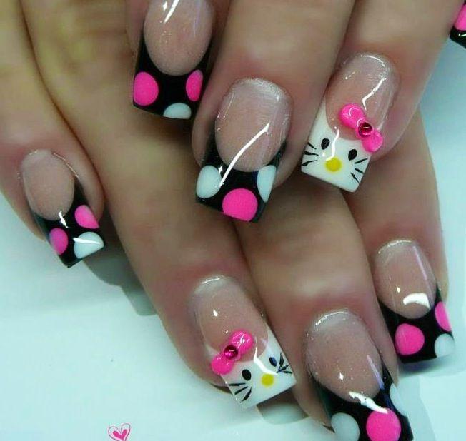 https://s-media-cache-ak0.pinimg.com/736x/88/1a/a7/881aa7a0acc2ad1acf44dbf8201135e3.jpg Cute Hello Kitty Acrylic Nails