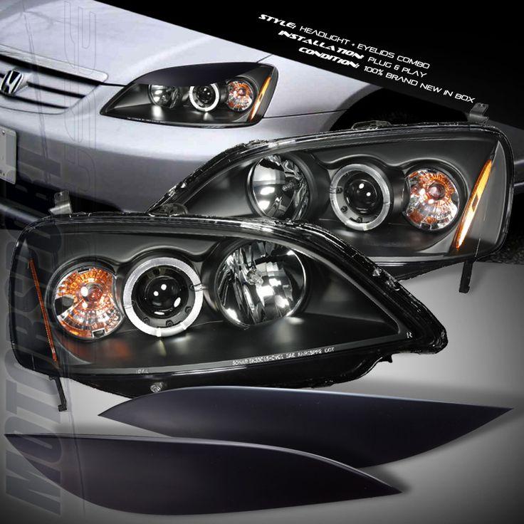 Led Coupe Accord Headlights 2012