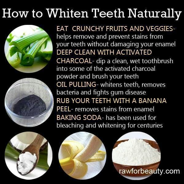 How Do You Get Your Teeth White Naturally