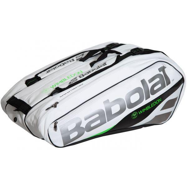 Babolat Pure Wimbledon Racquet Holder X12 119 95 Tennis Bags Tennis Bag Wimbledon