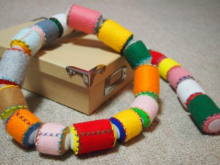 娘の手作りおもちゃ : ふわふわ夢ふわり