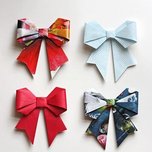 35 New Uses For Old Newspapers And Magazines - BuzzFeed Mobile  Origami bows