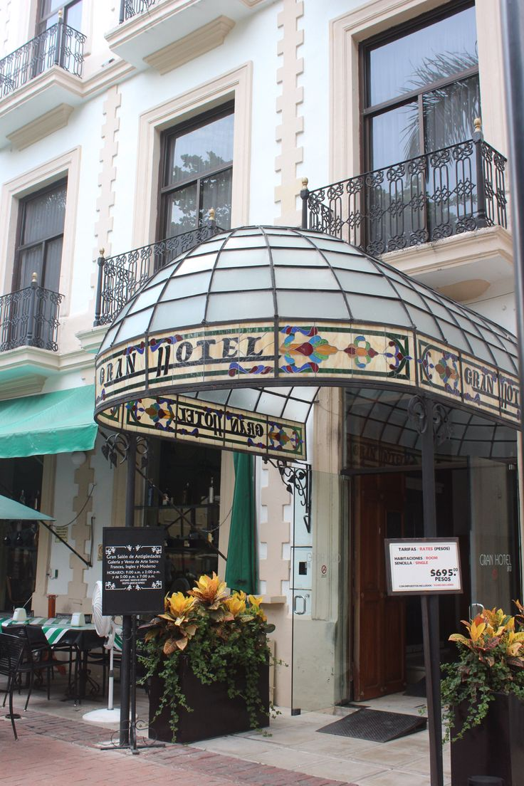 Gran hotel Mérida Yucatán