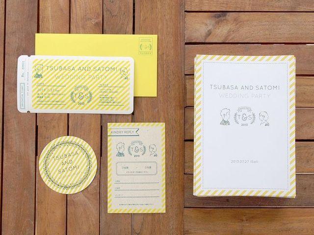 手作り派のプレ花嫁必見♡おしゃれな結婚式の招待状デザイン40選♡ -page4 | Marry Jocee