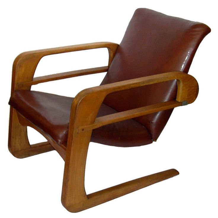 Iconic Original Airline Chair by KEM Weber | From a unique collection of antique and modern armchairs at http://www.1stdibs.com/furniture/seating/armchairs/