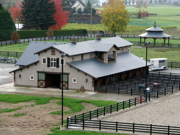 Best 25 cattle barn ideas on pinterest horse barns for Horse farm design