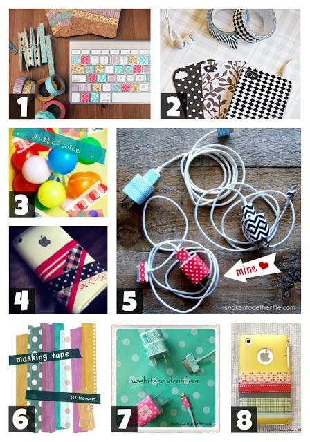 creative geekery: washi tape + tech = L.O.V.E.