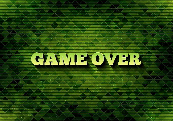 Free Vector Pixel Message: Game Over 265807 - https://www.welovesolo.com/free-vector-pixel-message-game-over-2/?utm_source=PN&utm_medium=welovesolo59%40gmail.com&utm_campaign=SNAP%2Bfrom%2BWeLoveSoLo