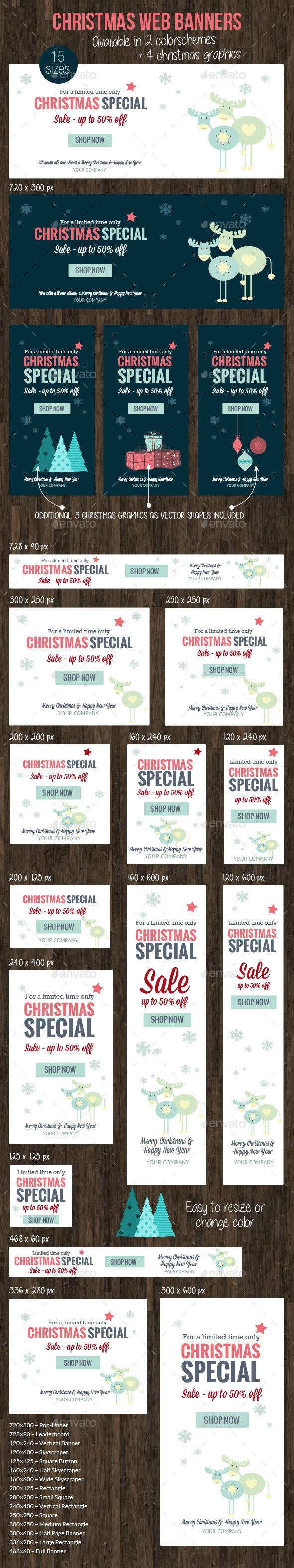 Christmas Web Banner 2015 Template PSD   Buy and Download: http://graphicriver.net/item/christmas-web-banner-2015/9698881?WT.oss_phrase=&WT.oss_rank=4&WT.z_author=corrella&WT.ac=search_thumb&ref=ksioks